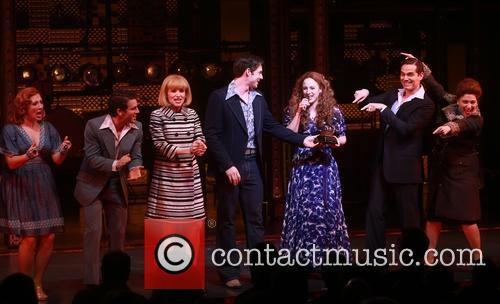 'Beautiful: The Carole King Musical' celebrate their Grammy...