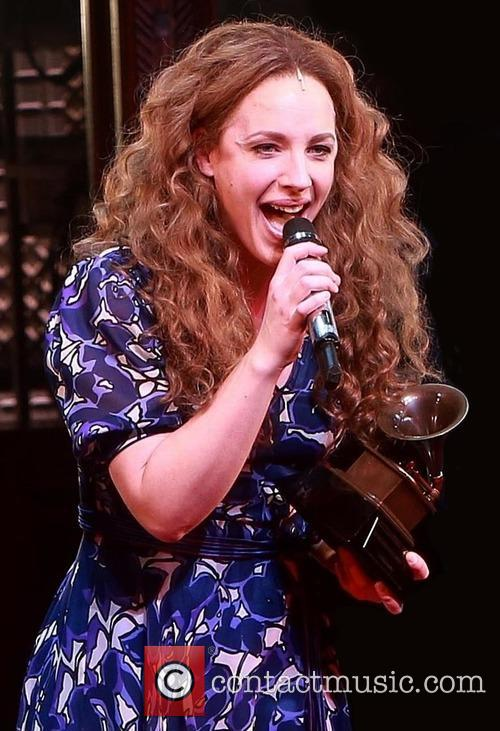 Carole King and Jessie Mueller 2