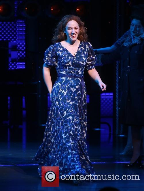 Carole King and Jessie Mueller 4