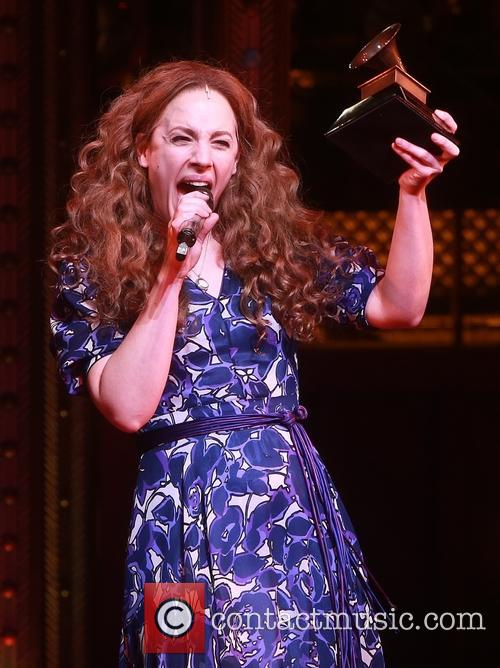 Carole King and Jessie Mueller 6