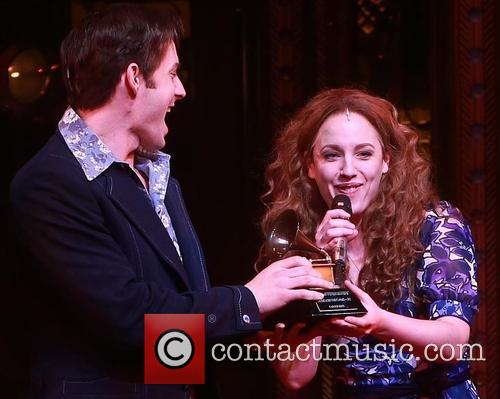 Carole King, Scott J. Campbell and Jessie Mueller 5