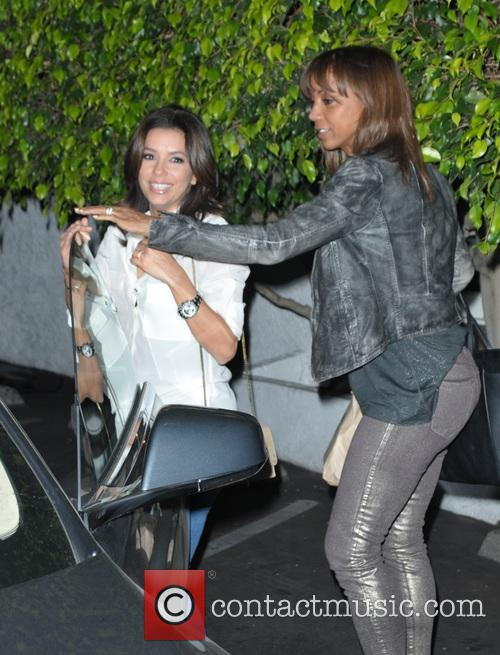 Eva Longoria and Holly Peete 3