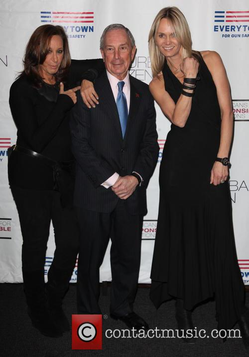 Donna Karan, Michael R. Bloomberg and Lise Evans 5