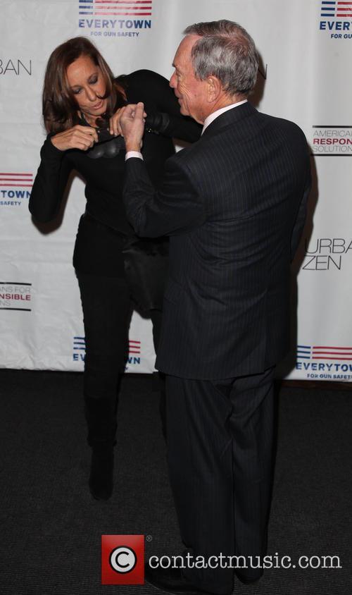 Donna Karan and Michael R. Bloomberg 7