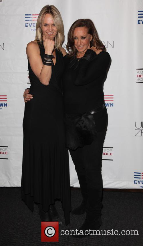 Lise Evans and Donna Karan 2