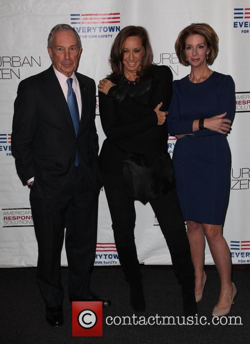 Mayor, Michael R. Bloomberg, Donna Karan and Lise Evans 1