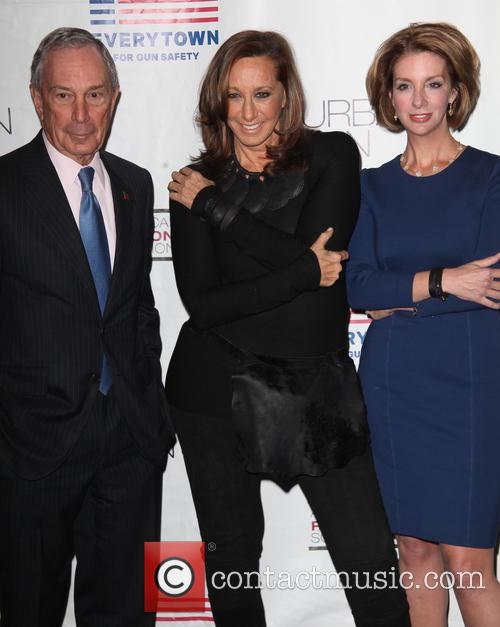 Mayor, Michael R. Bloomberg, Donna Karan and Lise Evans 2
