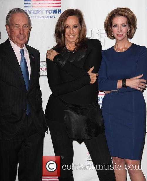 Mayor, Michael R. Bloomberg, Donna Karan and Lise Evans 4