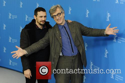 Wim Wilders and James Franco 7