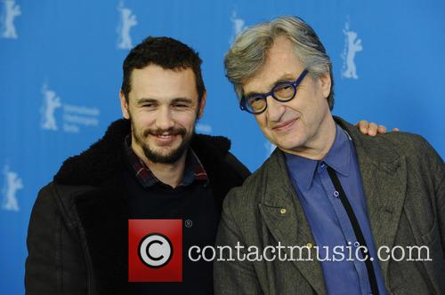 Wim Wilders and James Franco 8