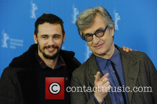 Wim Wilders and James Franco 9