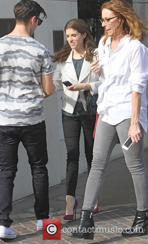 Anna Kendrick goes shopping at the Grove in...