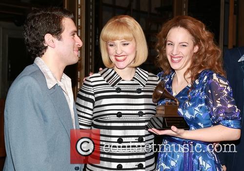 Spector, Anika Larsen, Jessie Mueller and Carole King 2