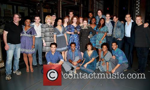 Jarrod Spector, Anika Larsen, Jessie Mueller, Liz Larsen, Scott J. Campbell, Paul Anthony Stewart, Cast and Band Members 2