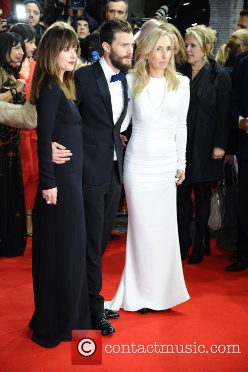 Dakota Johnson, Jamie Dornan and Sam Taylor-johnson 2