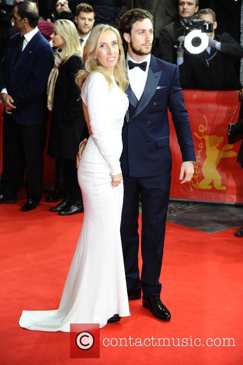 Sam Taylor-johnson and Aaron Taylor-johnson 1