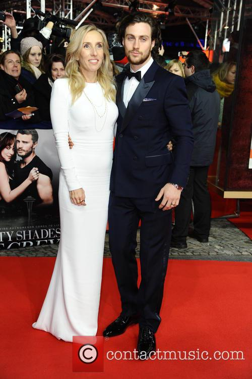 Sam Taylor-johnson and Aaron Taylor-johnson 8