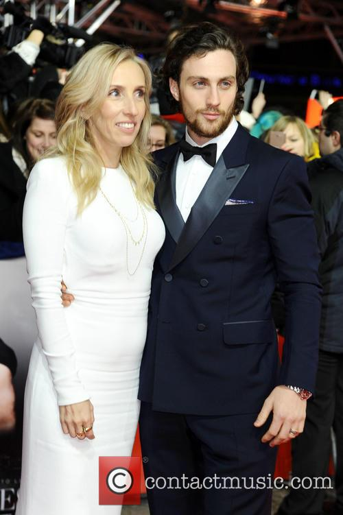Sam Taylor-johnson and Aaron Taylor-johnson 9