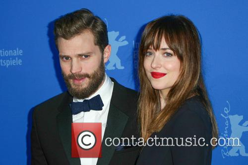 Jamie Dornan and Dakota Johnson 9