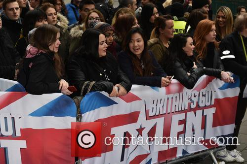 Red Carpet arrivals for Britain's Got Talent
