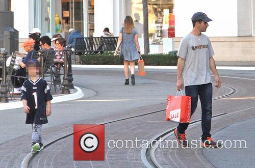 Joey McIntyre takes his family shopping at The...