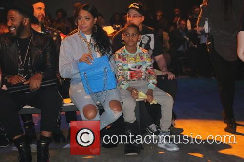 Lala Anthony and Kiyan Carmelo Anthony 1