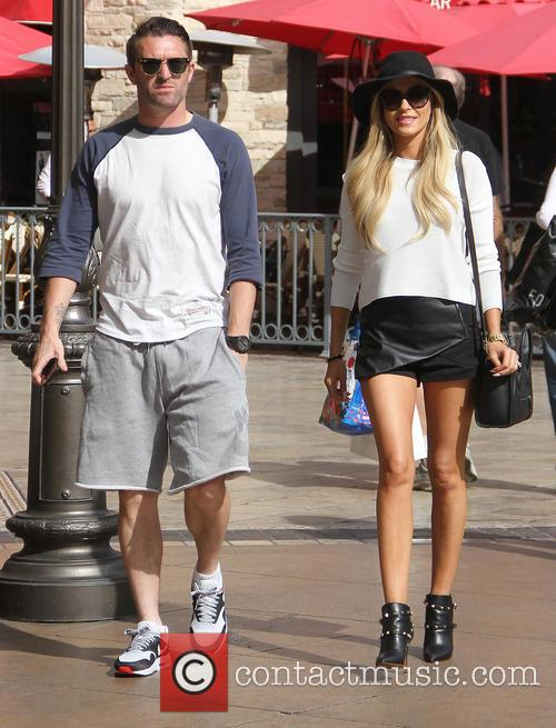 Robbie Keane goes shopping at The Grove
