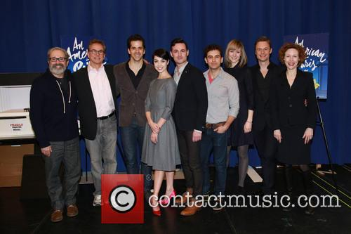 Craig Lucas, Rob Fisher, Robert Fairchild, Leanne Cope, Brandon Uranowitz, Max Von Essen, Jill Paice, Christopher Wheeldon and Veanne Cox 3