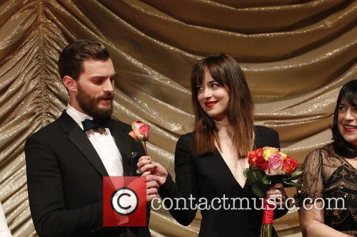 Jamie Dornan and Dakota Johnson 1
