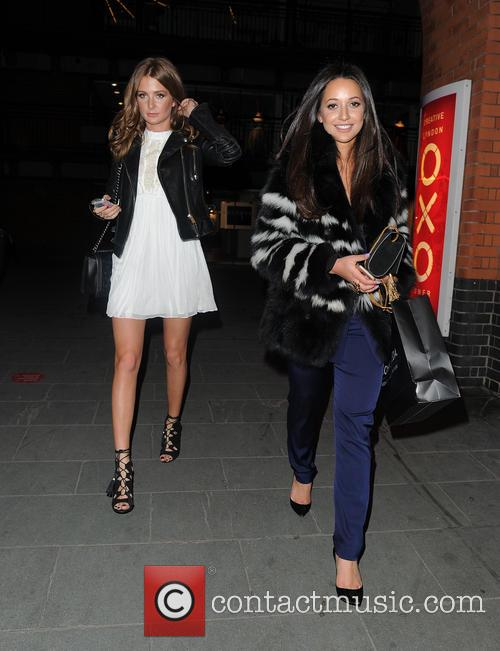 Millie Mackintosh and Roxie Nafousi 8