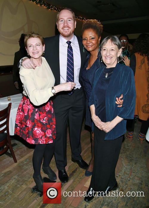Dianne Wiest, Darren Goldstein, Tonya Pinkins and Patricia Conolly 7