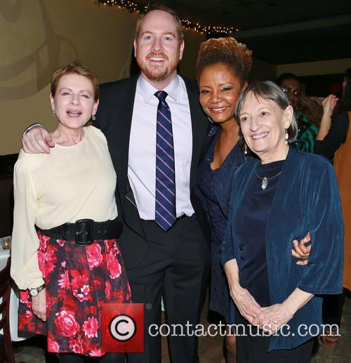 Dianne Wiest, Darren Goldstein, Tonya Pinkins and Patricia Conolly 8