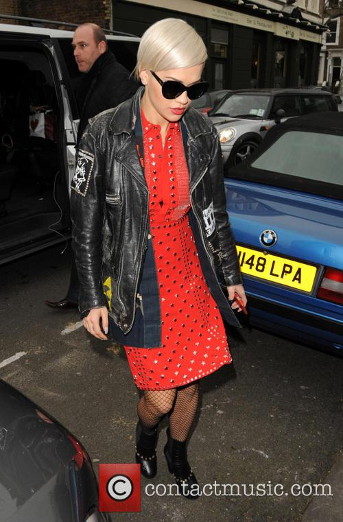 Rita Ora out in West London
