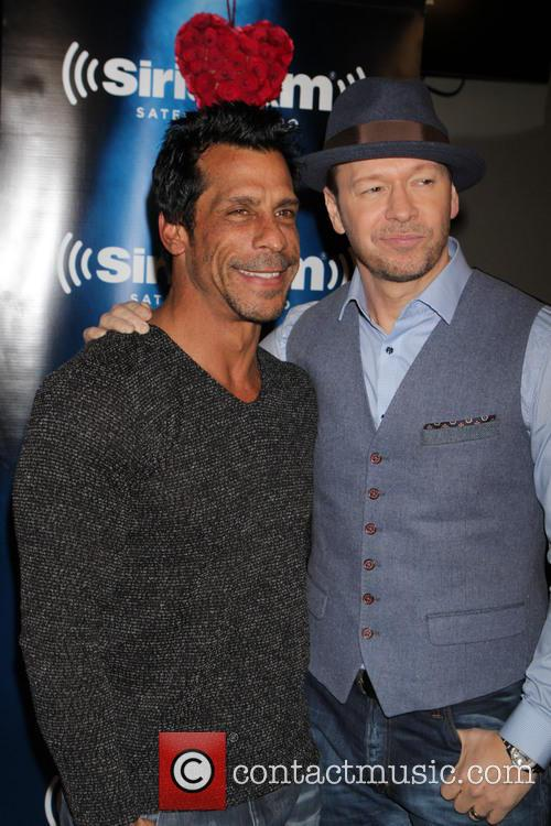 Danny Wood and Donny Wahlberg 2
