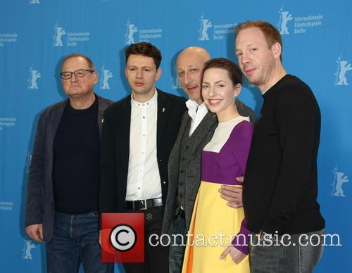 Burghart Klaußner, Christian Friedel, Oliver Hirschbiegel, Katharina Schüttler and Johann Von Bülow 1
