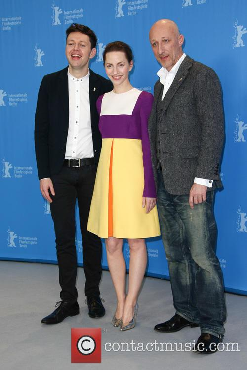 Christian Friedel, Katharina Schüttler and Oliver Hirschbiegel 4