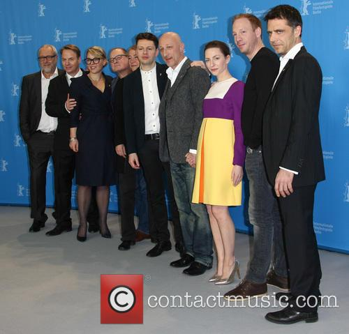 Christian Friedel, Katharina Schüttler, Oliver Hirschbiegel, Johann Von Bülow, Burghart Klaußner and Josef Schnelle 2
