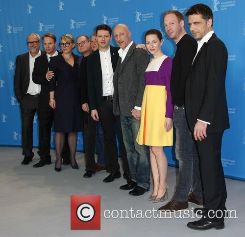 Christian Friedel, Katharina Schüttler, Oliver Hirschbiegel, Johann Von Bülow, Burghart Klaußner and Josef Schnelle 1