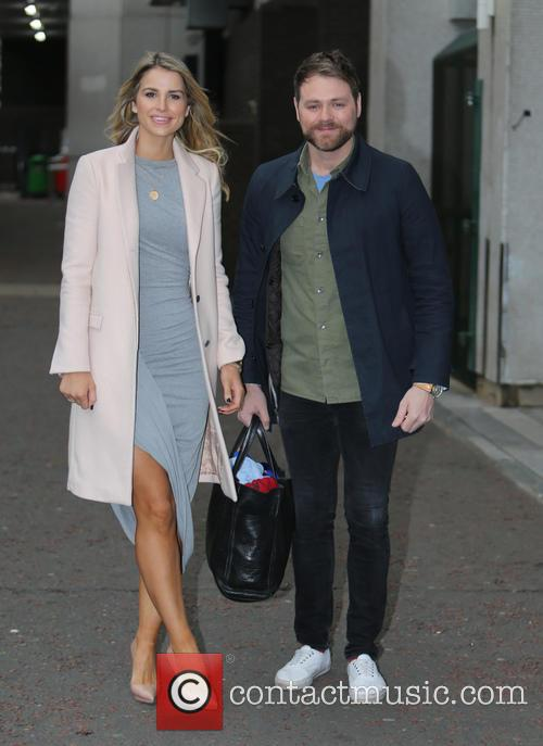Brian Mcfadden and Vogue Williams 2
