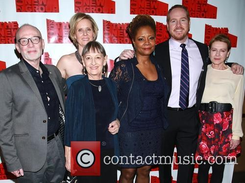 Joel Drake Johnson, Cynthia Nixon, Patricia Conoly, Tonya Pinkins, Darren Goldstein and Danne Wiest 1