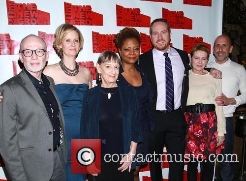 Joel Drake Johnson, Cynthia Nixon, Patricia Conoly, Tonya Pinkins, Darren Goldstein, Danne Wiest and Scott Elliott 2