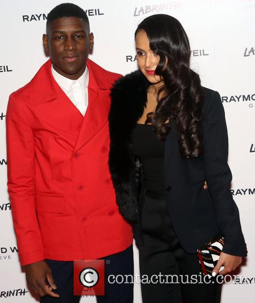 Labrinth and Muz at the Raymond Weil Geneva event