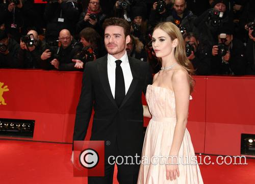 Richard Madden and Lily James 5