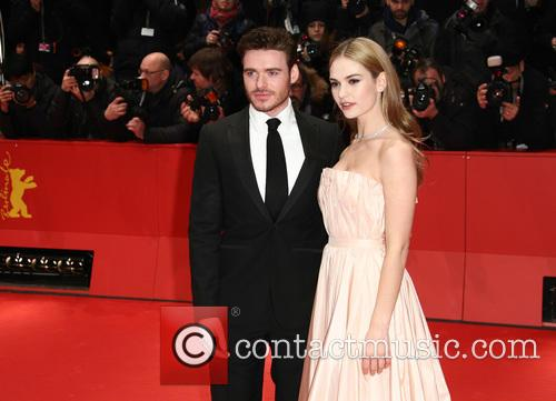 Richard Madden and Lily James 6
