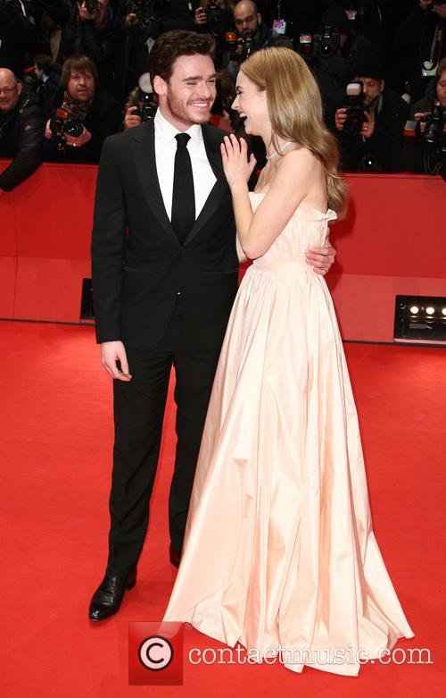 Richard Madden and Lily James 7