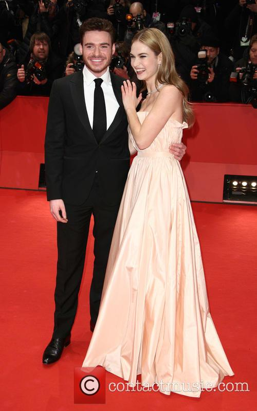 Richard Madden and Lily James 1
