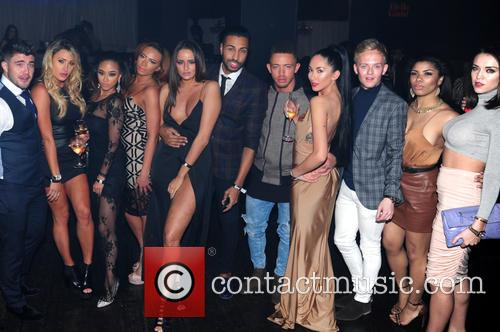 Dean Spragg, Rogan O'connor, Talitha Minnis, Ashley Cain and Yasmin Di Christie 2