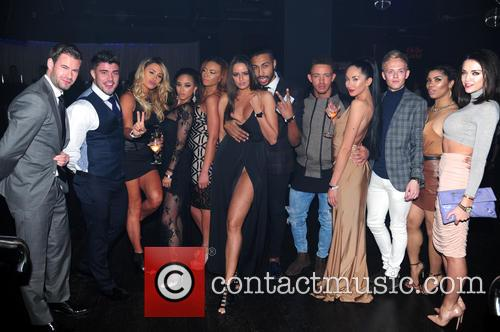 Dean Spragg, Rogan O'connor, Talitha Minnis, Ashley Cain and Yasmin Di Christie 1