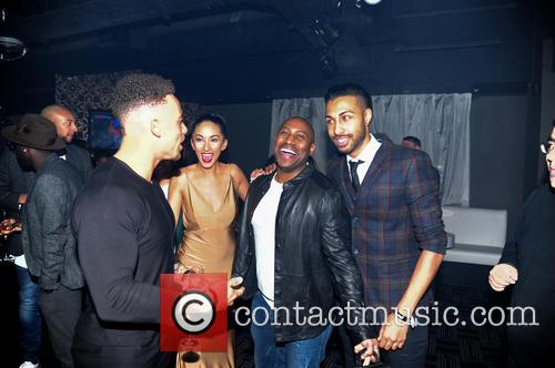 Valentino, Talitha Minnis and Dj Colin Francis 2