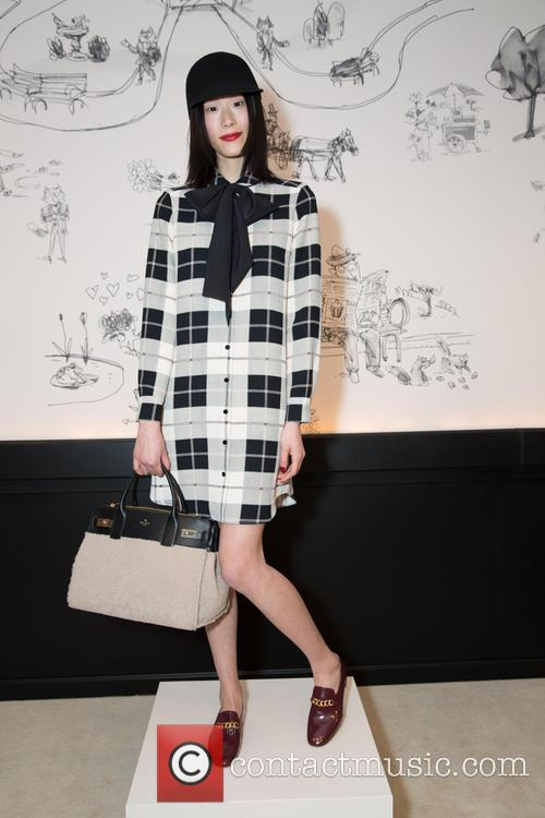 Mercedes-benz Fashion Week Fall, Kate Spade and Presentation 6